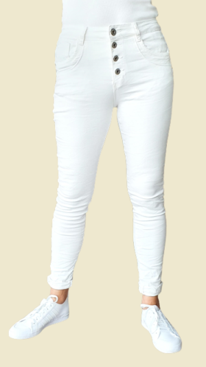 jeans wit zomer collectie