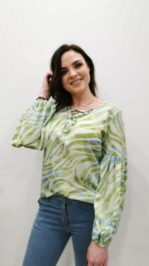 blouse leaf chastar
