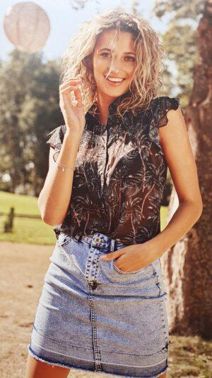 blouse malou c&s the label