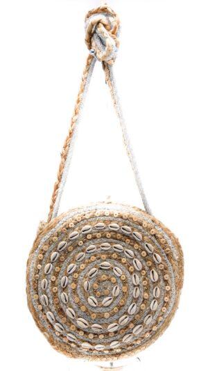 ibiza tas rond handgemaakt