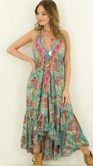 bohemian zijde jurken