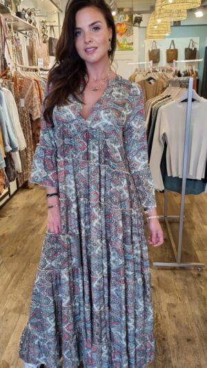 zijde boho jurk herfst collectie