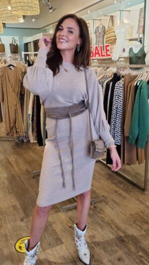 knitted dress long sleeve